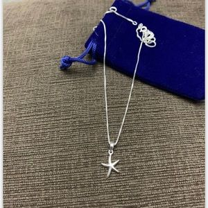 925 sterling silver star pendant with chain